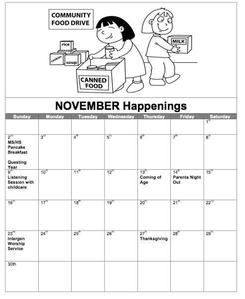 novemberhappenings