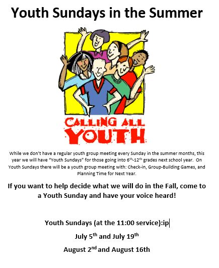 youth sundays 4
