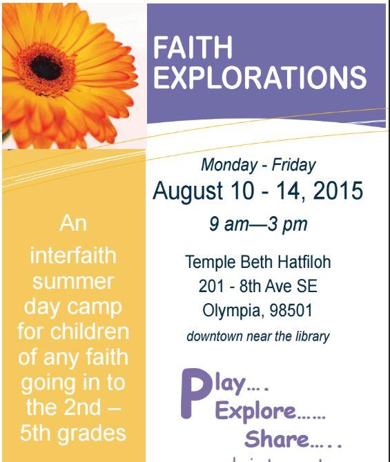 Faith Explorers