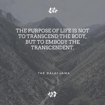 embody the transcendent 2